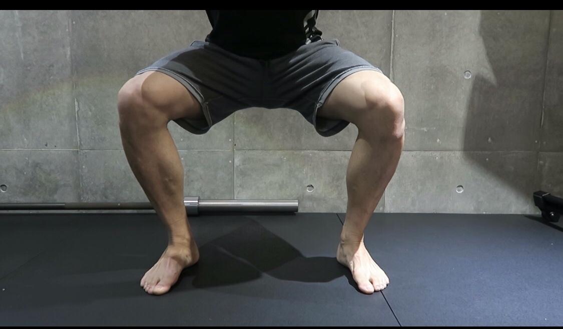 美脚の為のスクワット方法